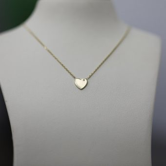 Necklace Precious Full Gold Heart