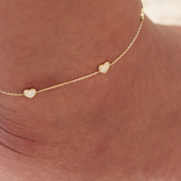 Anklet Constellation Heart
