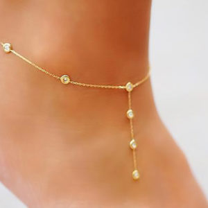 Anklet Constellation Love