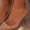 ANKLET FAIRY HANGING 18K GOLD AND DIAMONDS