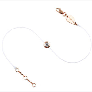 Baby Bracelet 0.05 carat on Thread