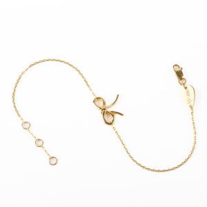 Bracelet Bow-Gold Only