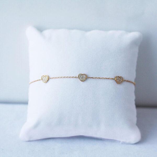 Bracelet Constellation Heart