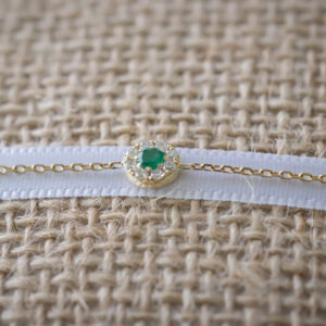 Bracelet Duchess Full Diamond on Emerald