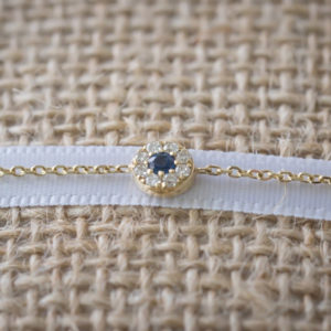 Bracelet Duchess Full Diamond on Sapphire