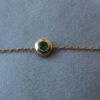 Bracelet 0.10 carat Emerald Stone