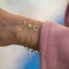 Bracelet Precious Full Gold Heart