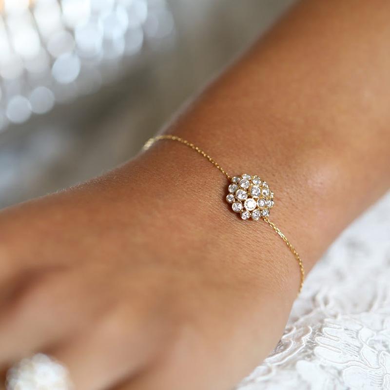 Bracelet Josephine Full Diamonds