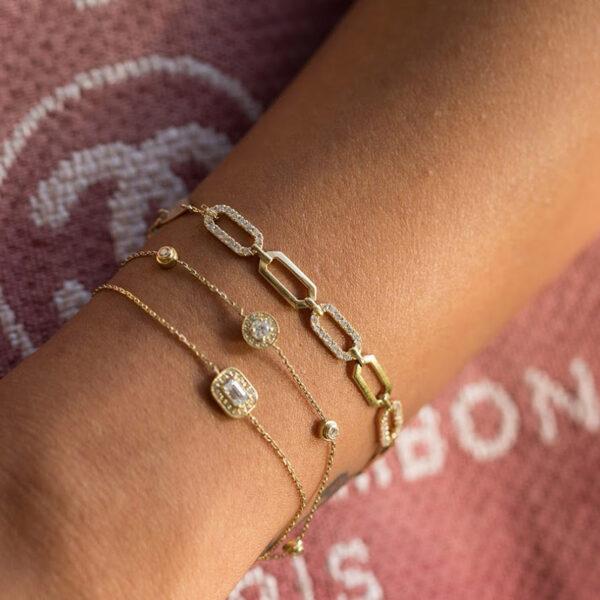Bracelet Lady Gaga Half Diamond