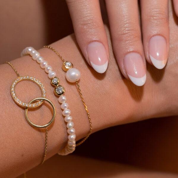 Bracelet Mingle One Circle With Diamond