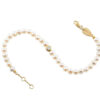 Bracelet Pearls Diamond 0.10 carat