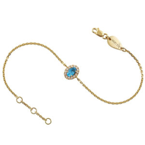 Bracelet Princess Aquamarine