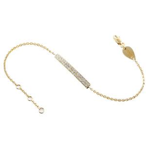 Bracelet Paris-Dubai double line