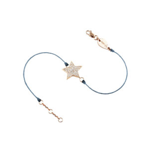 Bracelet Star on Thread