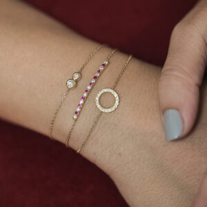 Bracelet Sun on Thread