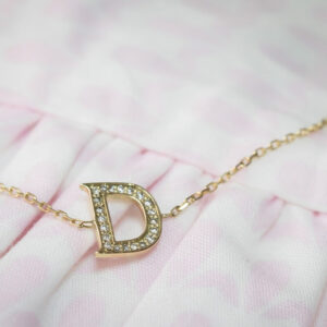 Baby Necklace Alphabet