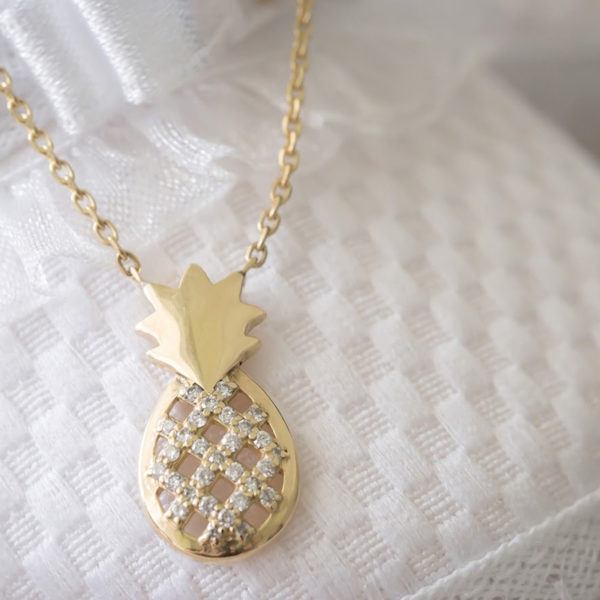 Baby Necklace Pineapple