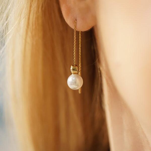 Earring Daisy Hanging