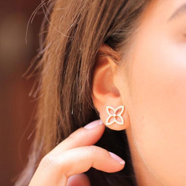 Earring Hera Flower