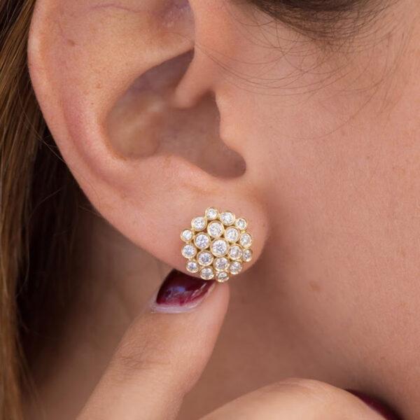 Earring Josephine Full Diamond