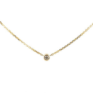 Baby Necklace Solitaire 0.05 carat