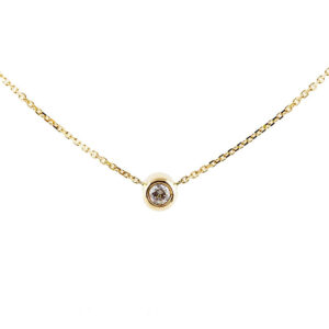 Baby Necklace Solitaire 0.10 carat