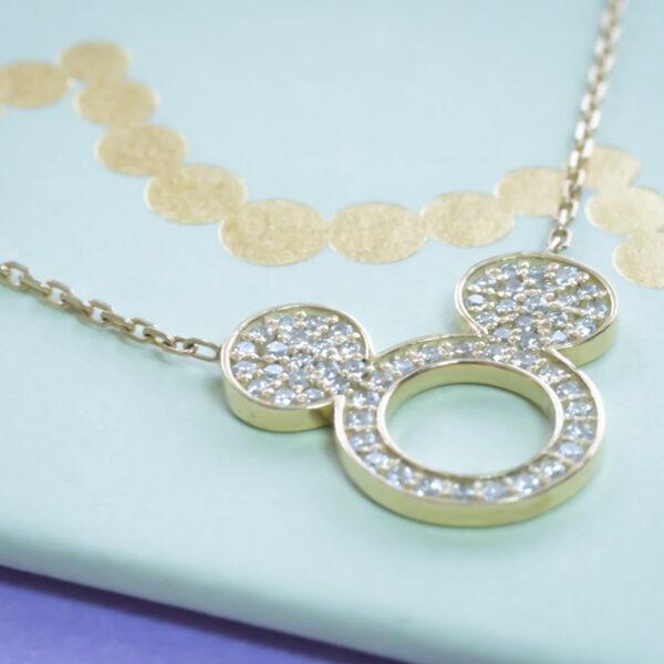 Necklace Mickey- Diamond