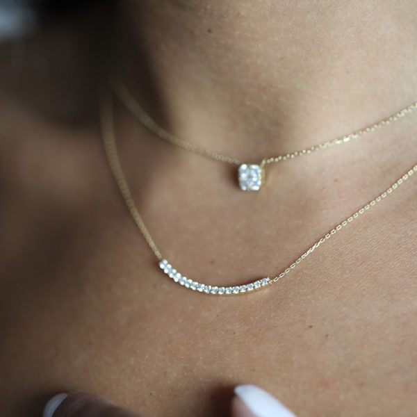 Necklace Ophelia Full Diamonds
