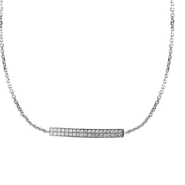 Necklace Paris-Dubai Double Line