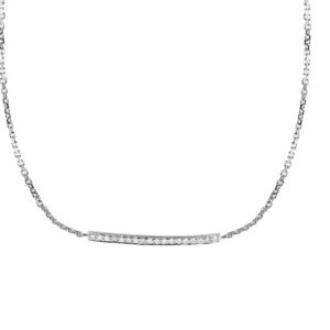 Necklace Paris-Dubai Single Line