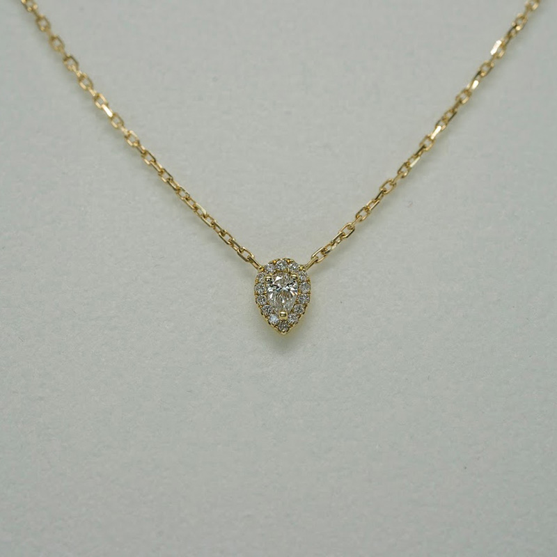 Necklace Pear Cut