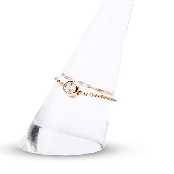 Ring Solitaire Diamond 0.05 carat