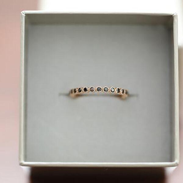 Ring IRIS Black Diamonds