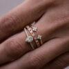 Ring Diamond Pear CUT