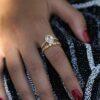RING DIAMOND PEAR CUT | 18K GOLD
