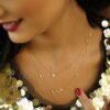 NECKLACE ARABIC LOVE PREMIUM 18K GOLD AND DIAMONDS