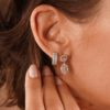 EARRING VALENTINE 18K GOLD AND DIAMONDS
